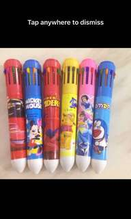 Goody bag- ten color pen