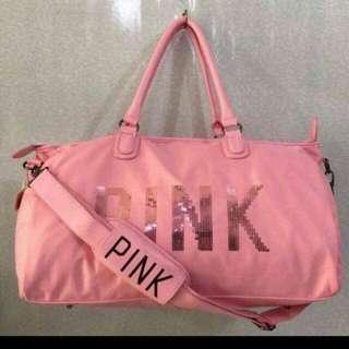 Victoria's Secret PINK travel bag  (ON HAND)