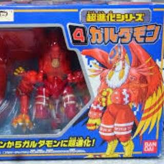 全新 Bandai 數碼暴龍大冒險01 超進化玩具 巴多拉獸