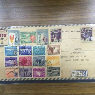 1955 Queen Elizabeth's First Day Cover