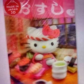 Hello Kitty 3D 明信片 (包郵) 購自日本