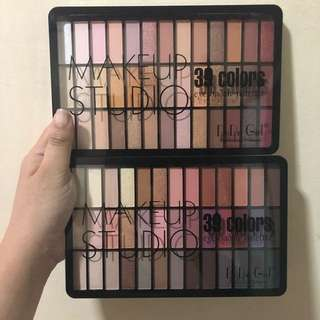 Makeup studio palette (very pigmented)
