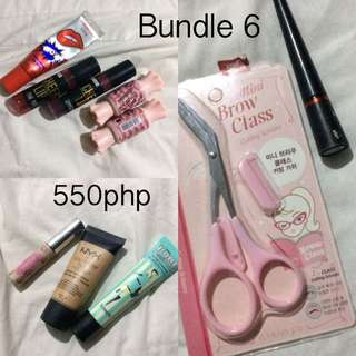 Bundle cosmetics💕