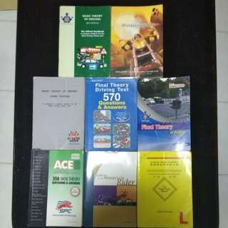Free Motor and car license book