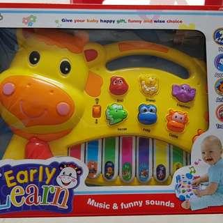 Mainan Anak dengan Musik