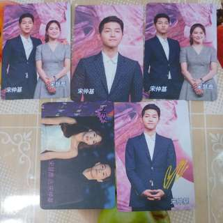 Yes card 5張宋仲基02