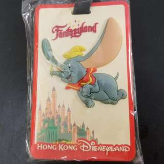 迪士尼行李牌 Disneyland luggage tag