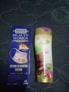 Slimming Lotion & Brightening Lotion