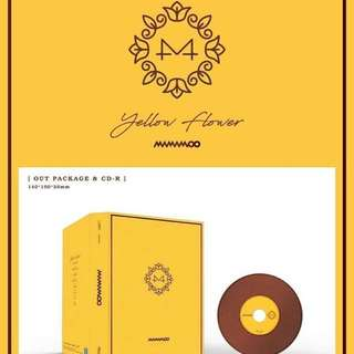 [PREORDER] Mamamoo - Yellow Flower