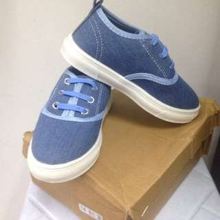 Brand new boy canvas shoes