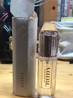 Burberry body oil