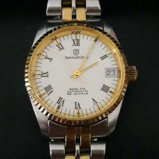 Swiss Sandoz 25Jewels Automatic Watch