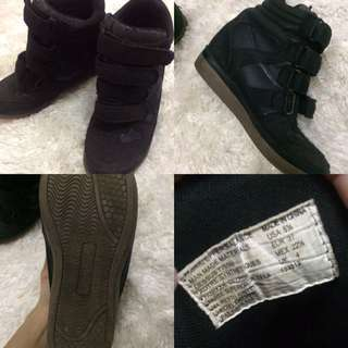 Air walk wedge shoes