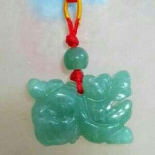 東陵玉貔貅天然水晶吊飾(P002)