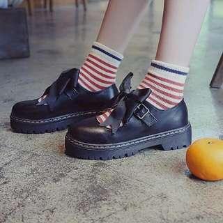 Bow Tie Lolita Shoes