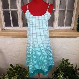 Lavish Alice Mint Houndstooth Print Dress