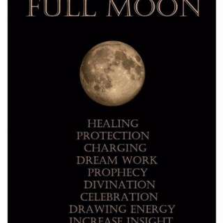 Full moon love ritual 1st march