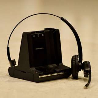 Plantronics office conference call wireless headset