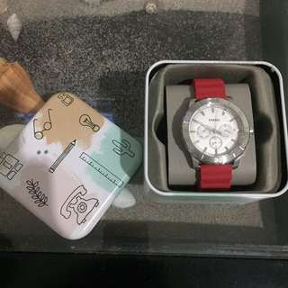 Fossil Watch (Red) Original