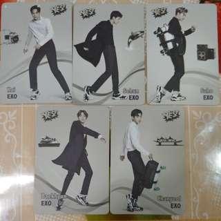 Yes card EXO 全套