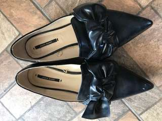 Zara basic knot shoes