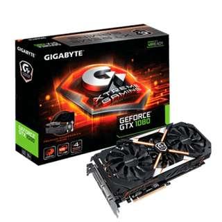 Gigabyte Xtreme Gaming GTX1080 8G