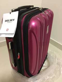 Brand New Delsey Helium Aero Cabin Trolley