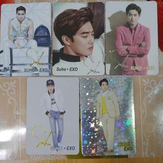 Yes card EXO 5張07