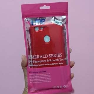 Oppo F5 Baby Skin Case Red