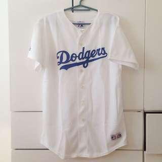Dodgers Oversized Baseball Tee