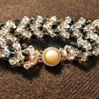 司華洛水晶手鍊