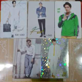 Yes card EXO 5張 08