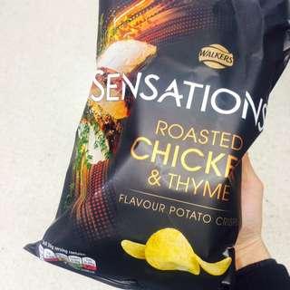 Walkers Sensations Chips Crisp 薯片 150g 大包裝