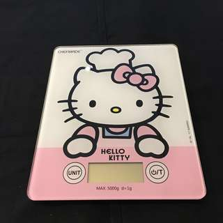 Hello Kitty Digital Food Weighing Scale