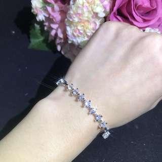 18K 鑽石手鍊鈪