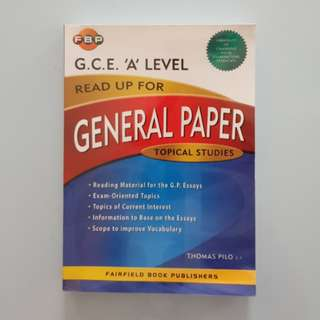 A-level GP Essay Book