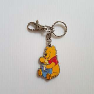 Winnie The Pooh (Eating Honey) Key Chain