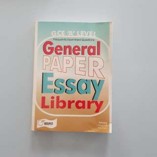 General Paper Essay Library