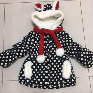 (全新)韓版 女童棉外套
