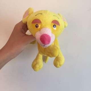 🚚 黃色頑皮豹鉛筆盒 筆袋