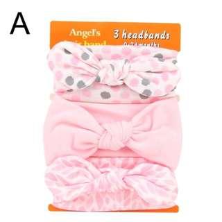 Baby Headband 3 in 1