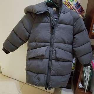 小孩夾棉外套