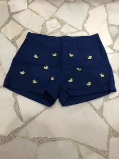 Duck Printed Shorts