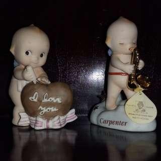 Kewpie porcelain figures