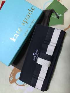 New Kate spade ribbon wallet