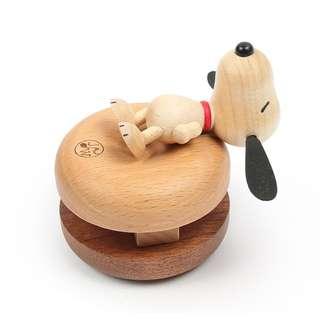花生漫畫 Snoopy / 史努比木質捲線器 / D226 / 史奴比 查理布朗 集線器