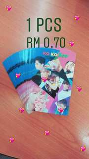 EXO lomocard