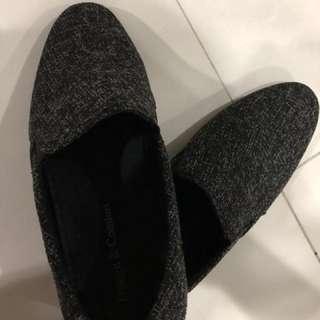 Men's shoes tweed design