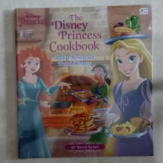 The Disney Princess Cookbook (Buku Resep Putri Disney)+50 Resep Lezat