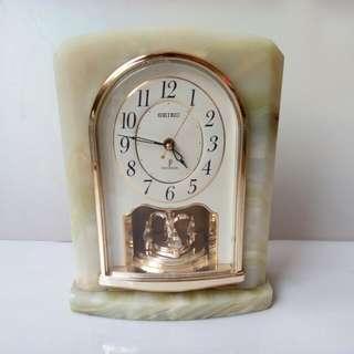 Seiko Premuim marble clock